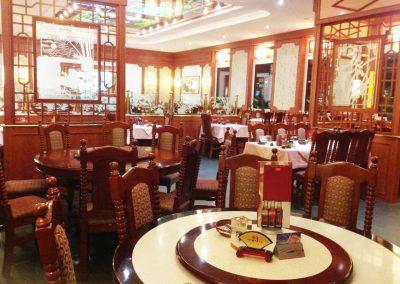 Chinarestaurant-Orchidee-Petersberg-Fulda-Innenraum-Tische
